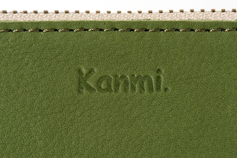 外側正面にKanmiのロゴ