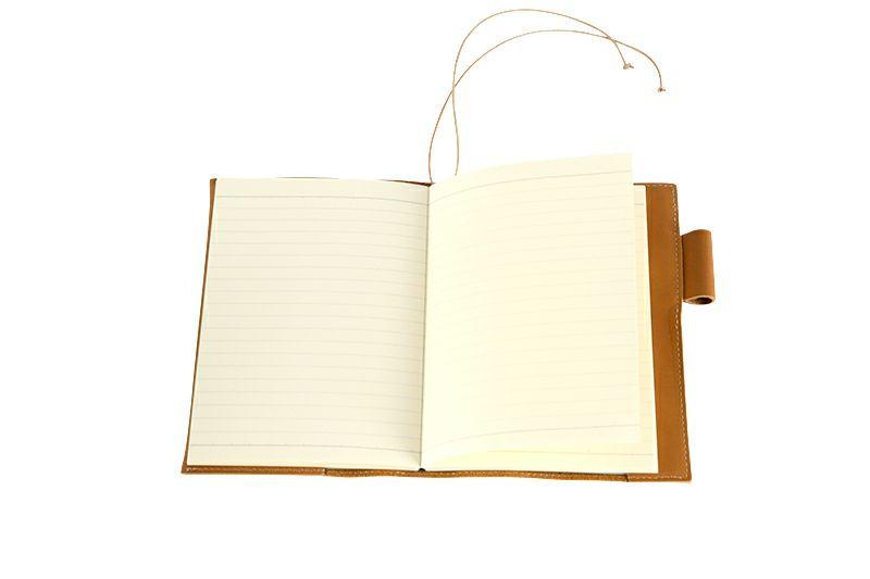 ノートを開いた状態
